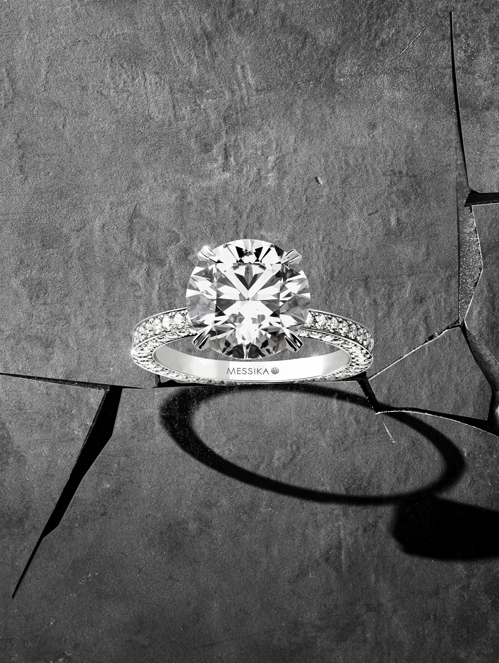 Diamond solitaires rings - Messika engagement rings collection